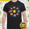 Universe planets gift idea science lover astronomy Shirt