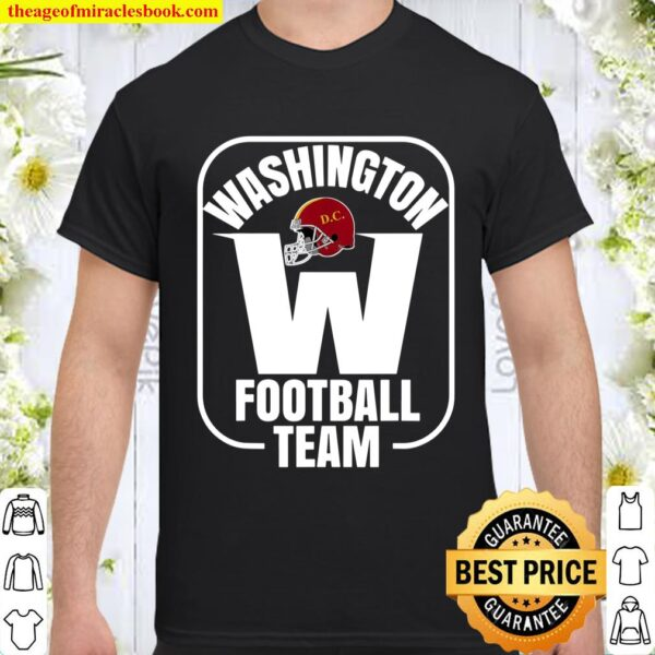 Washington Football DC Sports Team Novelty Gift Shirt