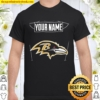 Your Name The Northwest Company Baltimore Ravens Shirt