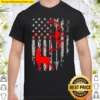 Bow Hunting American Flag Deer For Arrow Hunters Pullover Shirt