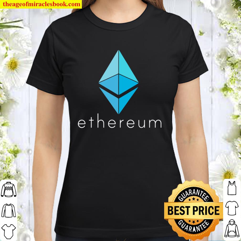 Ethereum ETH Coin Cryptocurrency Smart Contract Technology Classic Women T-Shirt