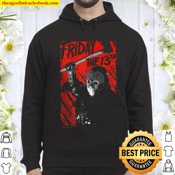 Friday The 13Th Jason Lives Zip Hoodie