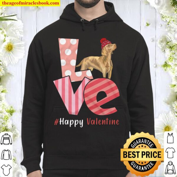 Love Weimaraner Happy Valentine Day Awesome Funny Gift Shirt Ideas For Hoodie
