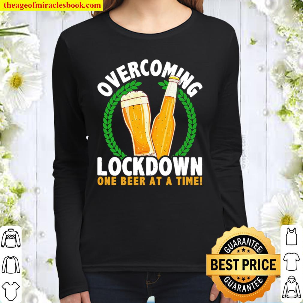 Overcoming Lockdown One Bottle At A Time Wine Women Long Sleeved