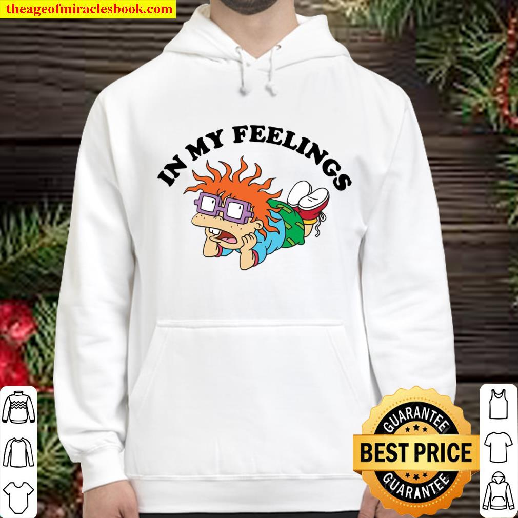 Rugrats In My Feelings With Chuckie Pullover Hoodie