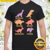 Types Of Dinosaurs Dino Identification - Cute Sweet Shirt