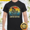 Vintage May 1930 Retro 91 Years Old 91st Birthday Gifts Shirt