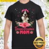 Womens Dog Mom Mother_s Day Gifts Flowers Bernese Mountain Mom Shirt
