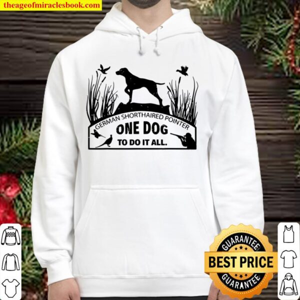 German Short Haired Pointer HoodiGerman Short Haired Pointer Hoodiee