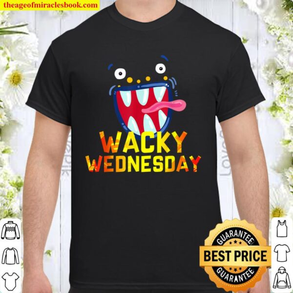 Wacky Wednesday Shirt - Clothes for mismatch day Shirt