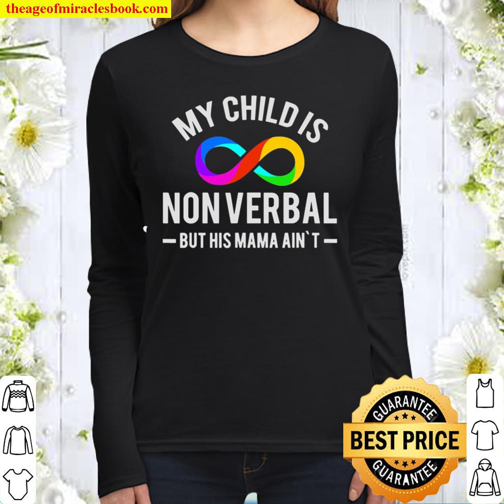 Autism Awareness Puzzle Piece Autism Mom Gifts Women Long Sleeved