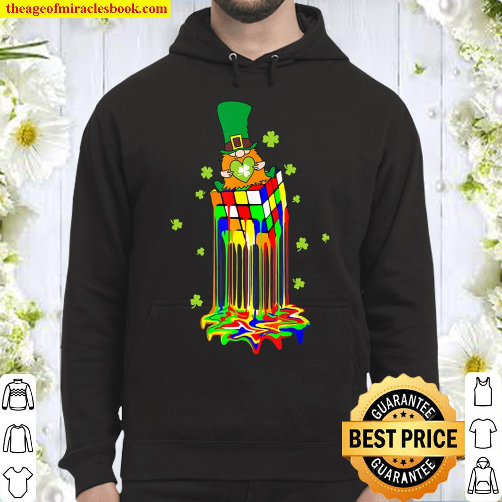 Awesome Interesting Graphic Melting Rubic Hoodie