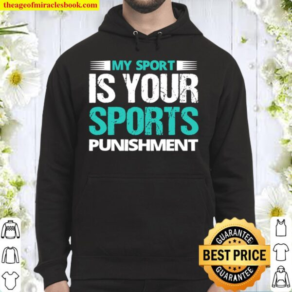 Funny Country Running Quote Sports Humor Clothing Hoodie