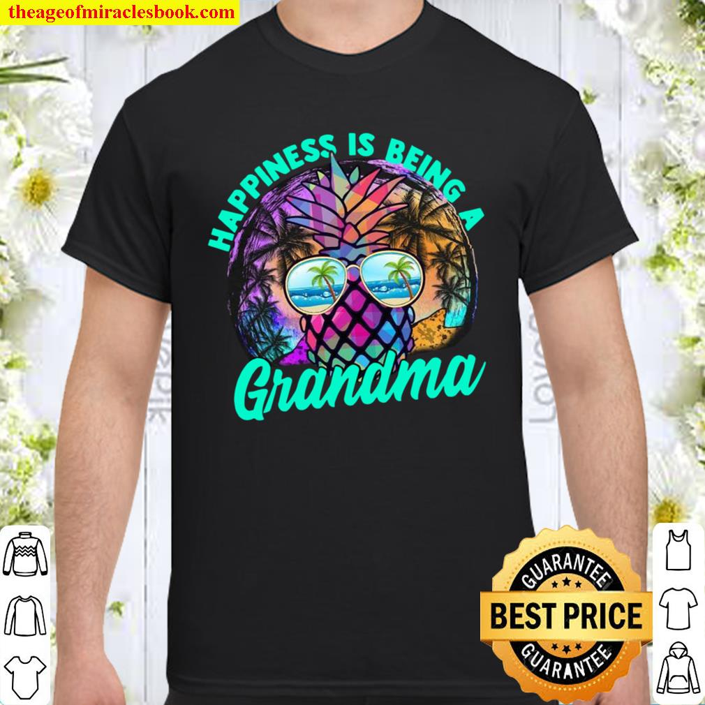 Happiness Is Being A Grandma Vintage Shirt