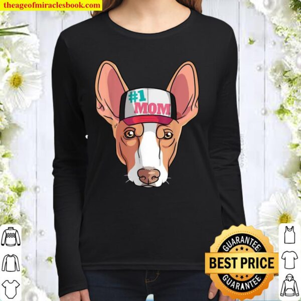 Ibizan Hound #1 Dog Mom Mother's Day Women Long Sleeved