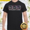Mother The Essential Element Mom Periodic Table Chemist Shirt