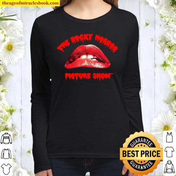 The Rocky Horror Picture Show Lips Women Long Sleeved