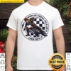 When Life Throws You A Curve Lean Into It Motorcycling Shirt