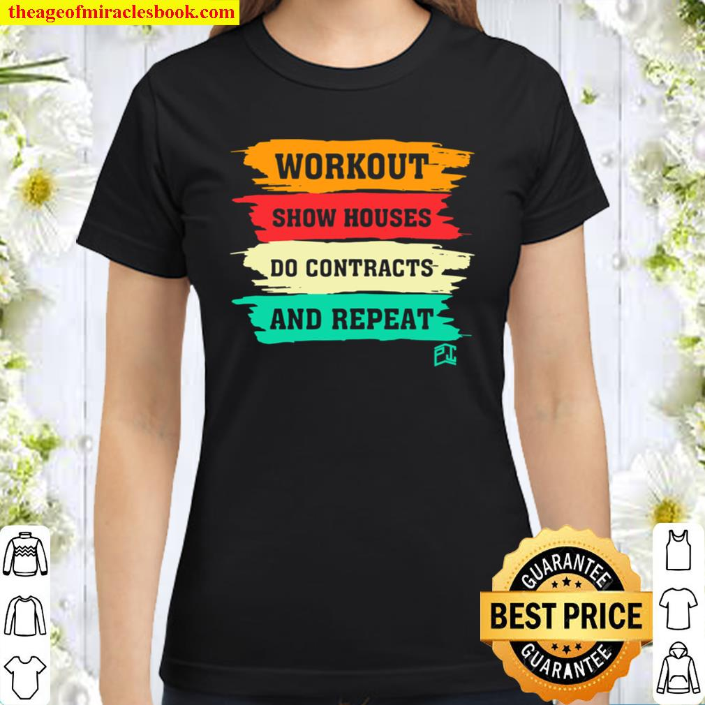 Workout and Repeat Classic Women T-Shirt
