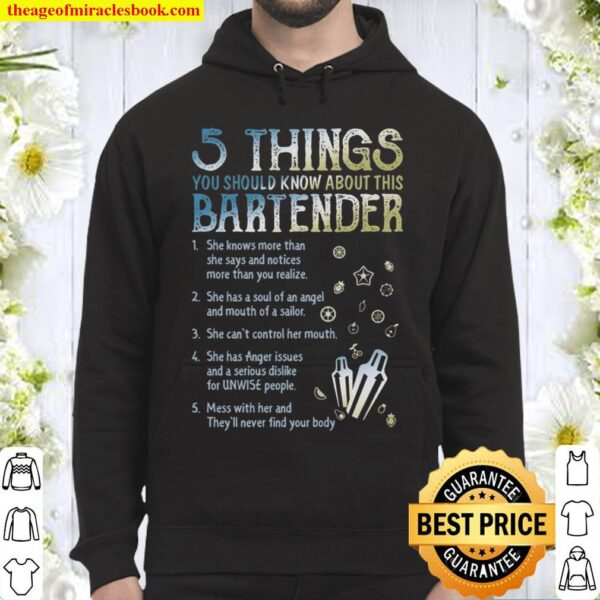 5 Things You Should Know About This Bartender Hoodie