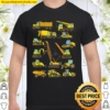 I Work With A Bunch Of Tools Construction Truck Design Shirt