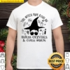This Witch Mom Runs On Herbs Crystals Curse Words Shirt