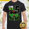 5 Years Old Race Car Birthday Shirt 5Th Birthday Racing Gift Shirt