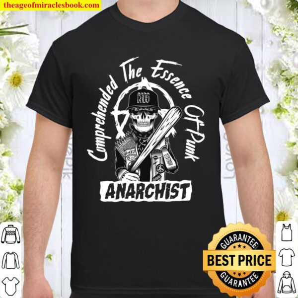 Comprehended The Essence Of Punk Anarchist Shirt