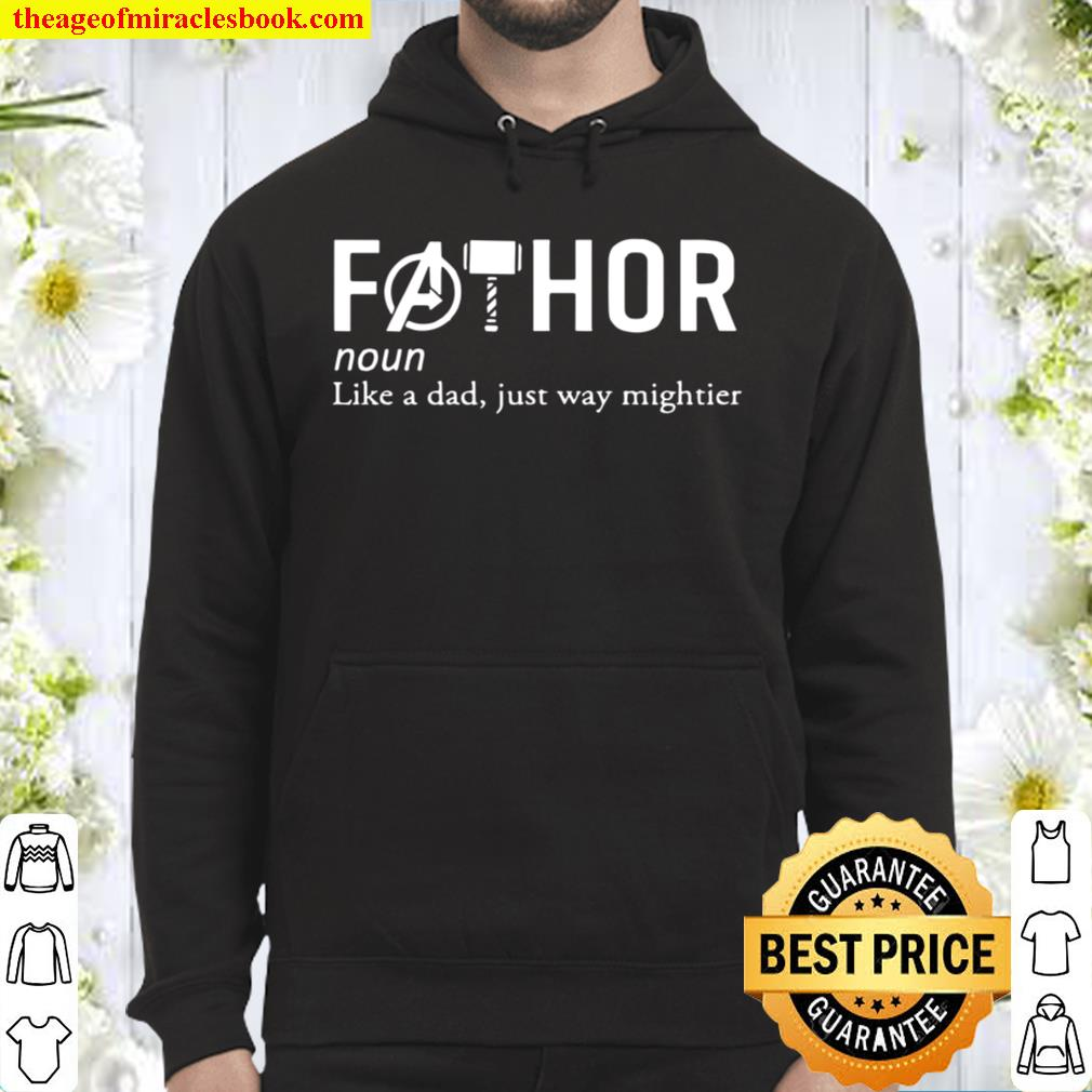 Fathor Definition Like A Dad Just Way Mighter Hoodie