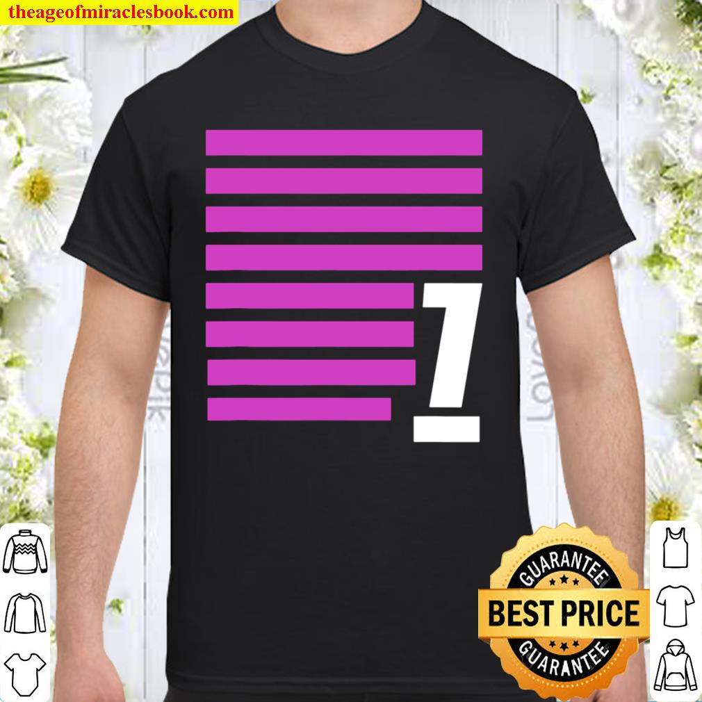 Favorite Number 7 Abstract Lines Biblical 7 Shirt