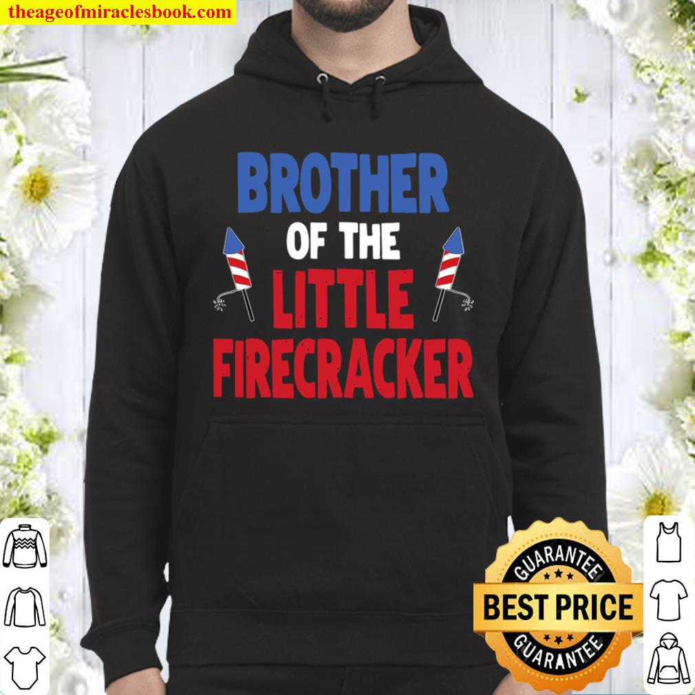 Matching Family Brother Birthday Party Fourth Of July Hoodie