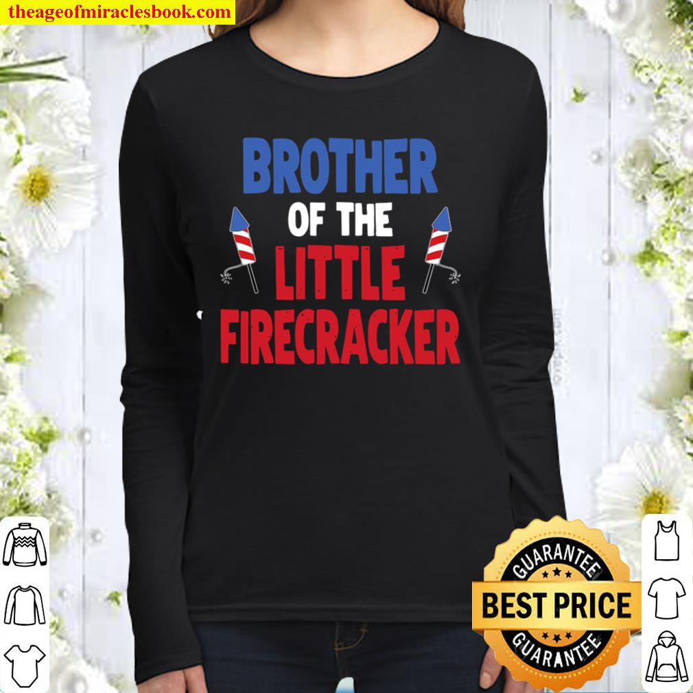 Matching Family Brother Birthday Party Fourth Of July Women Long Sleeved