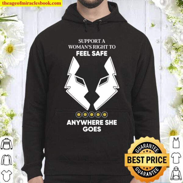 Support a anywhere she go,,gift for her Hoodie