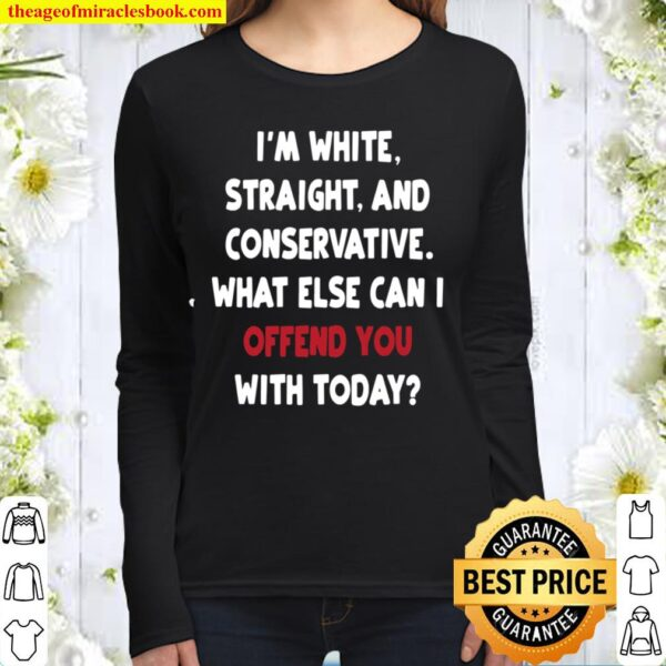 White Privilege Offends Women Long Sleeved