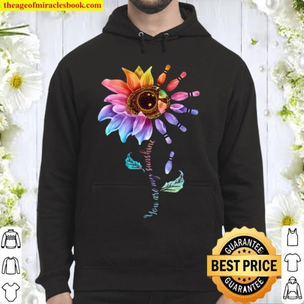 You Are My Sunshine Bowling Sunflower Hoodie