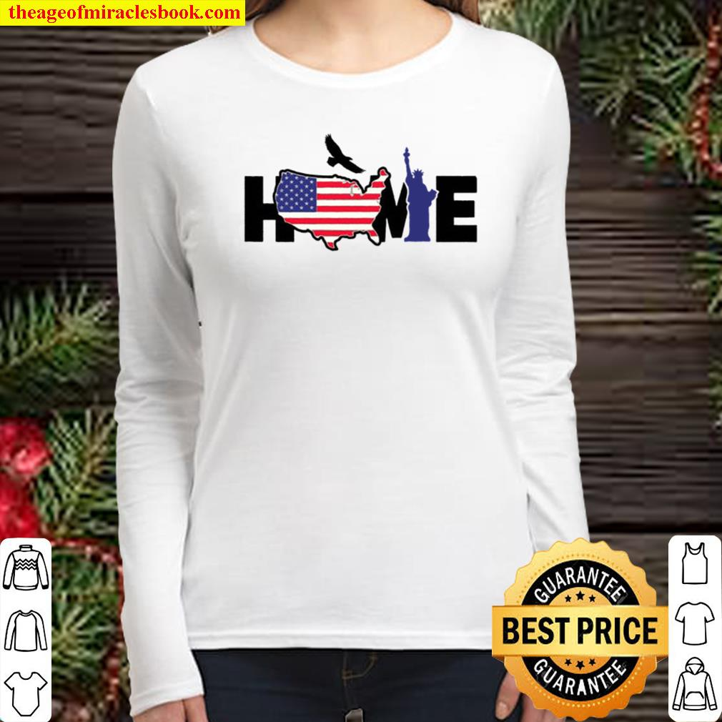 American United States Home Womens United States Women Long Sleeved