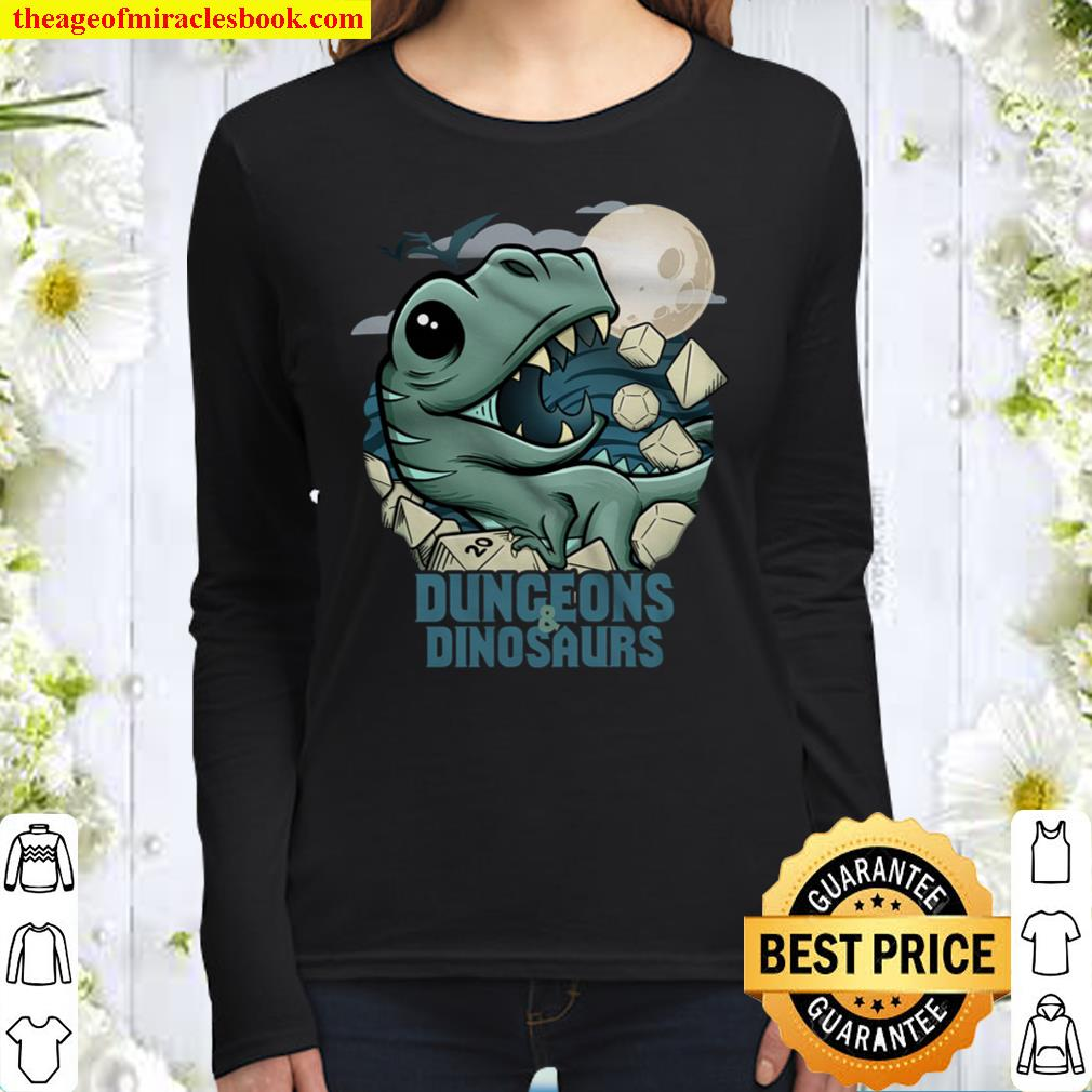 Dungeons and Dinosaurs Women Long Sleeved