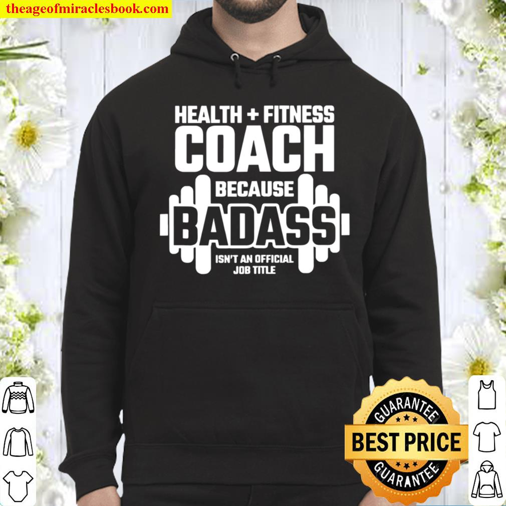 Fitness Instructor Personal Trainer Health Fitness Coach Hoodie