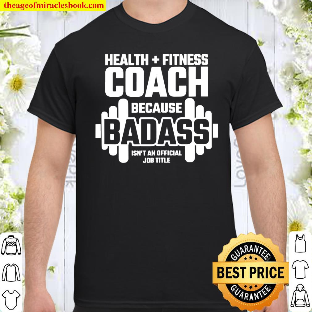 Fitness Instructor Personal Trainer Health Fitness Coach Shirt