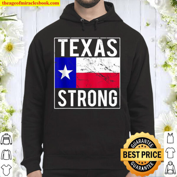 Texas Strong Flag Hoodie
