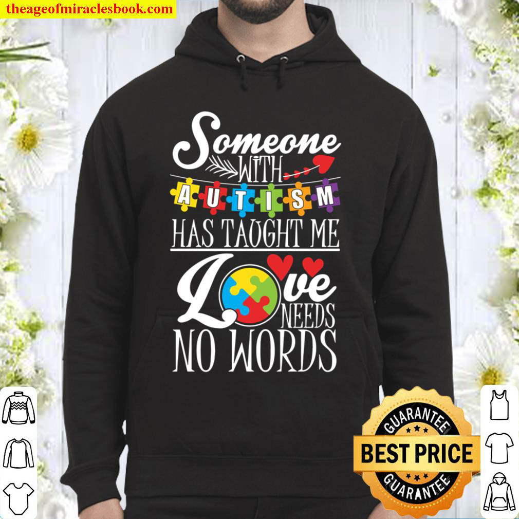 Autism Presents Autistic Awareness Family Gift For Kids Hoodie