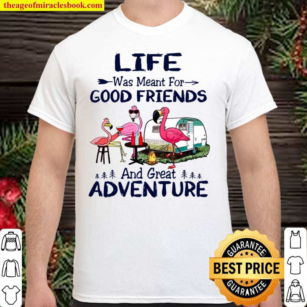 Camper Life Was Meant For Good Friends And Great Adventure Girl Gang C Shirt