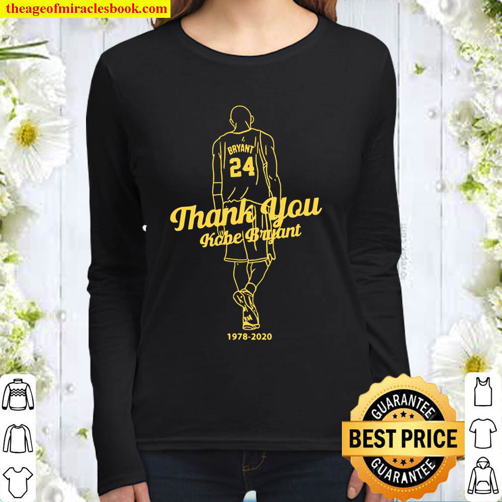 Kobe Bryant What Can I Say Mamba Out Women Long Sleeved