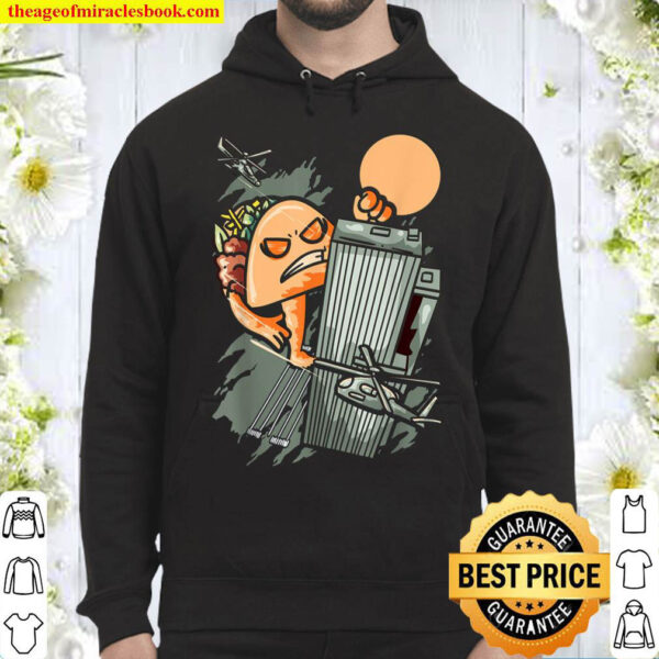 Taco Monster Funny Foodie Mexican Food Taco Lover Hoodie