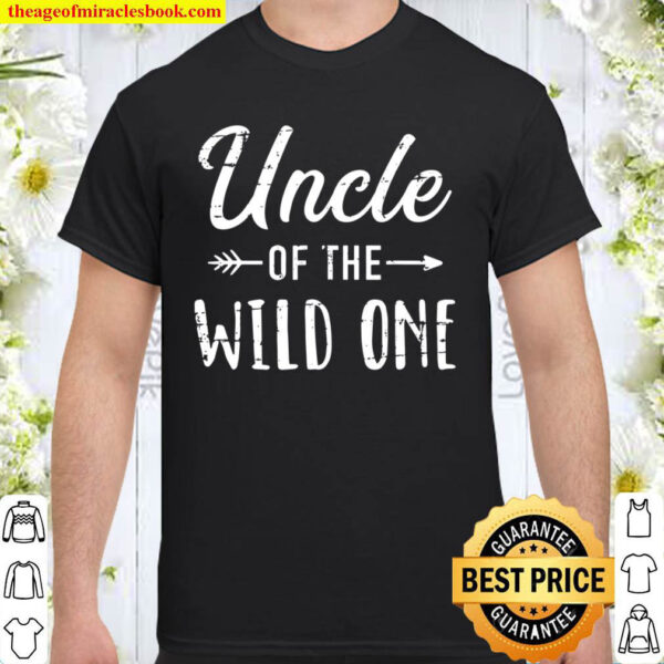 Uncle Of The Wild One Daughter Matching Family Shirt