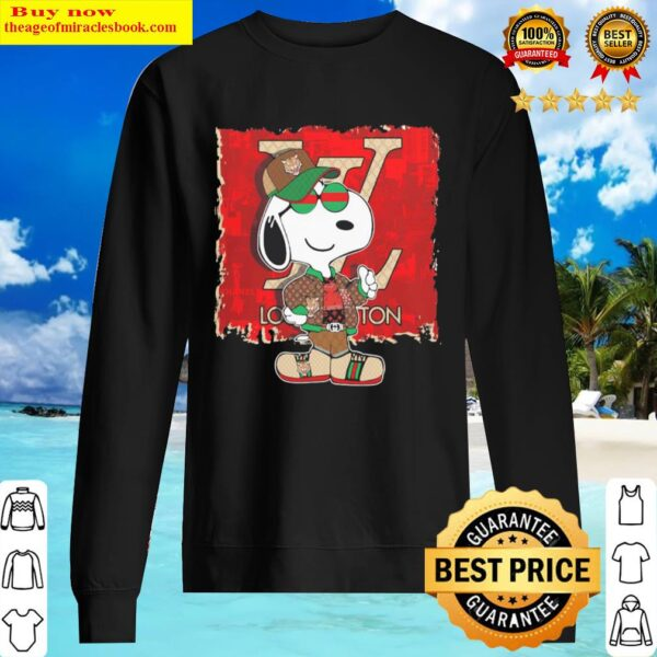 Official Snoopy Louis Vuitton Chanel Gucci Sweater